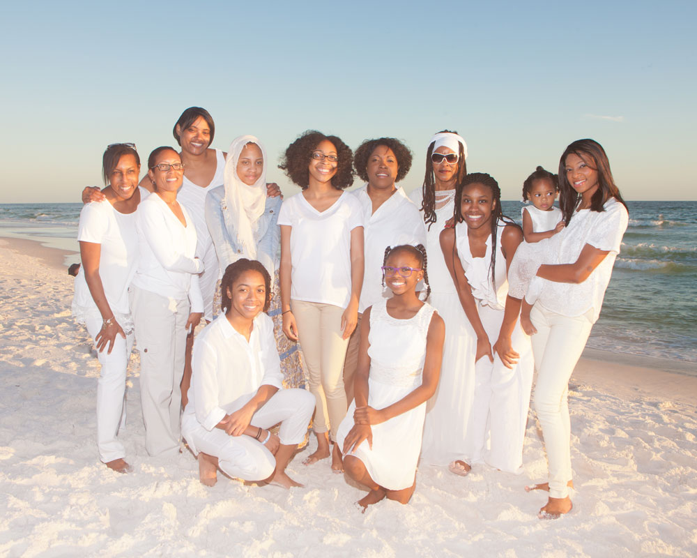 Family beach portrait photography by Sand Hippie Beach Photography, Destin Florida